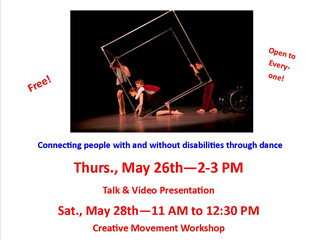 DanceAbility International comes to the Library!