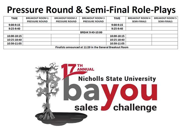 2021 BSC Pressure Round & Semi-Finals Bl