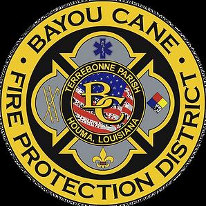 Bayou Cane Fire Department full logo (jp