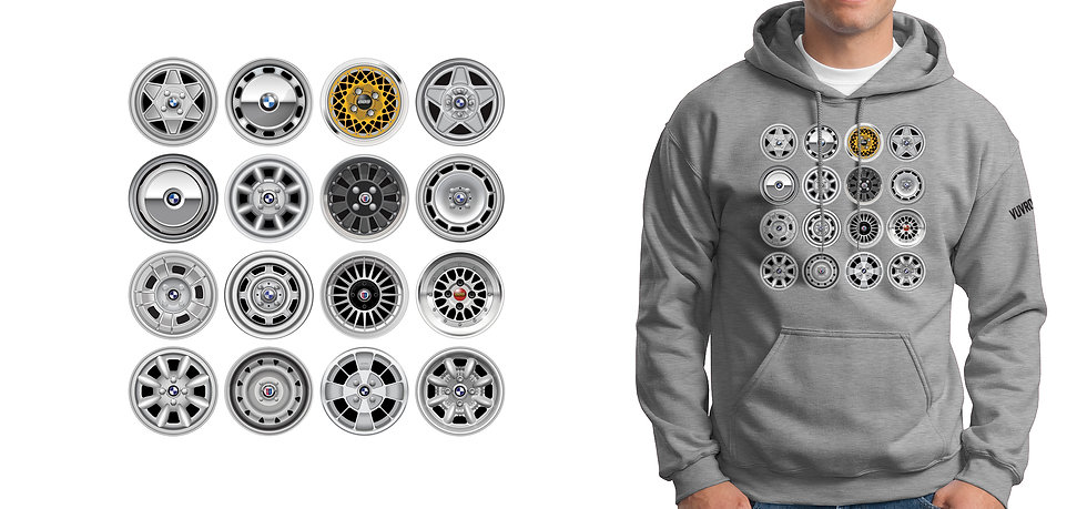 Classic Wheels Hoodie