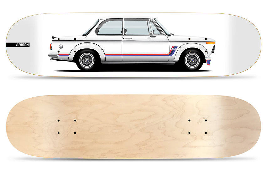 02 Turbo Skateboard