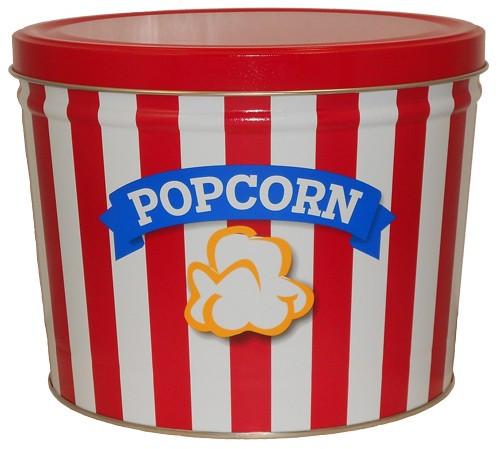 Popcorn blue ribbon