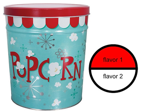 Popcorn BLAST - 6.5 gallons, 2 flavor
