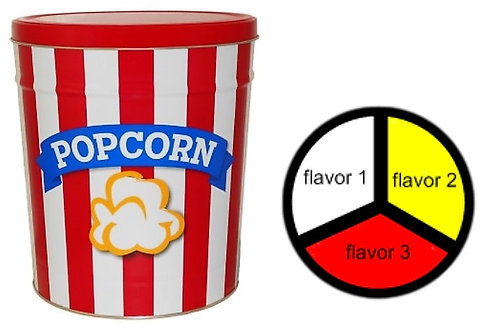 Blue Ribbon Popcorn - 3.5 gallons, 3  flavors