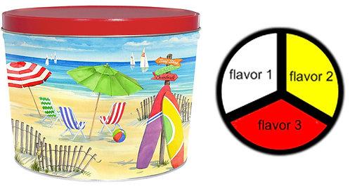 Beach - 2 gallons, 3  flavors