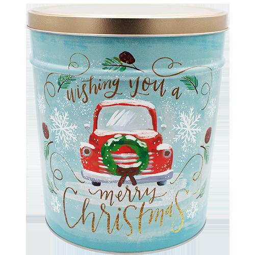 Vintage Christmas 3.5 gallon