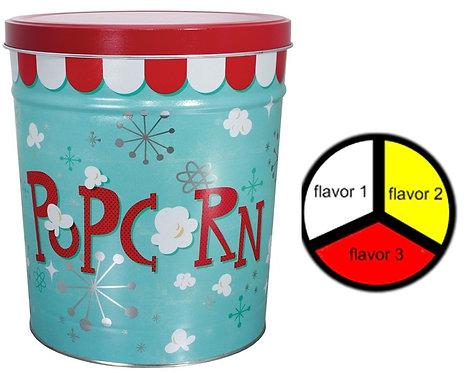 Popcorn BLAST - 6.5 gallons, 3  flavors