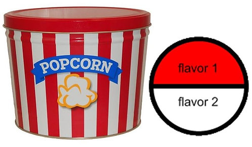 Blue Ribbon Popcorn - 2 gallons, 2 flavors