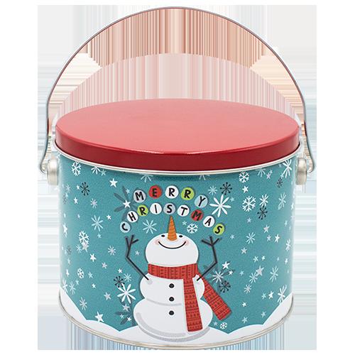 Cheery Snowman half gallon