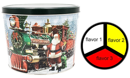Santa Express - 2 gallons, 3  flavors