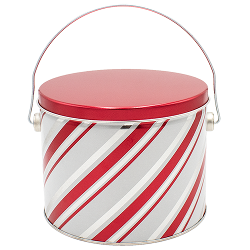 Candy stripes half gallon