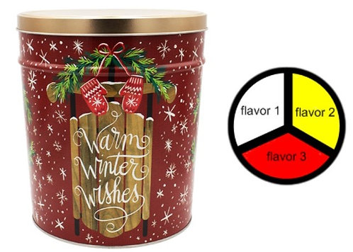 Warm Winter Wishes - 3.5 gallons, 3  flavors