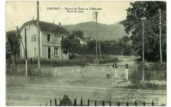 Chemin de fer rue St Maurice