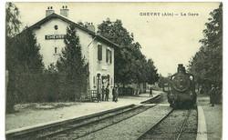La gare de Chevry