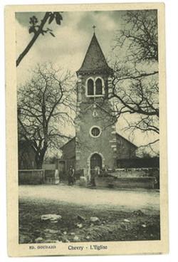 L'église de chevry
