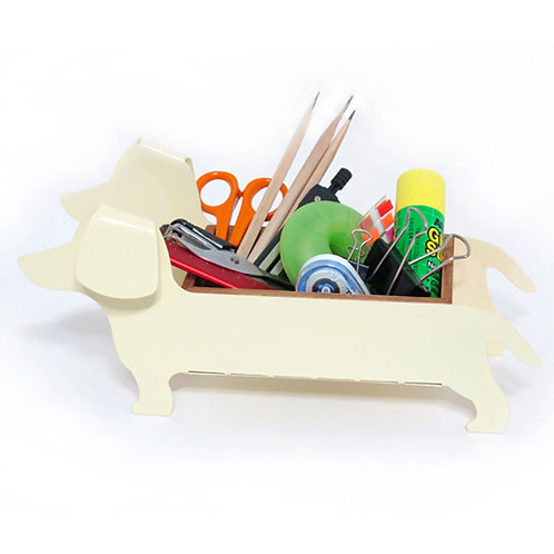 Hot Doggy Cream White / Table organiser