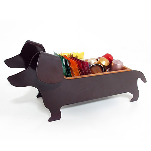 Hot Doggy Choco brown / Table organiser