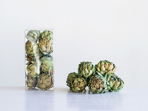 Box of Dried Artichokes (set of 9)