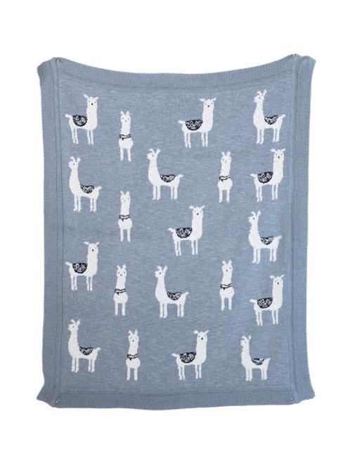 Llama Llama Blanket Throw