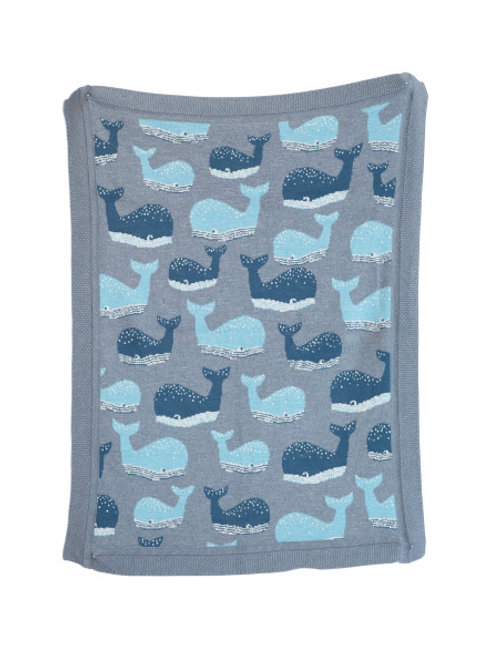 Whale Blanket Throw
