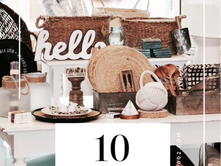 Ten Must Haves for Outdoor Entertaining