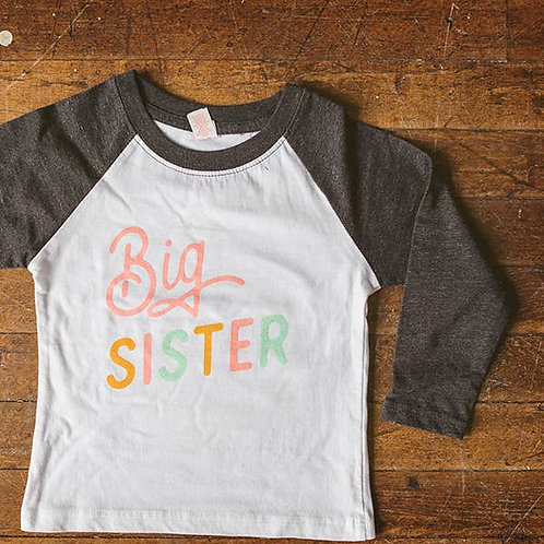 Big Sister Baseball Shirt
