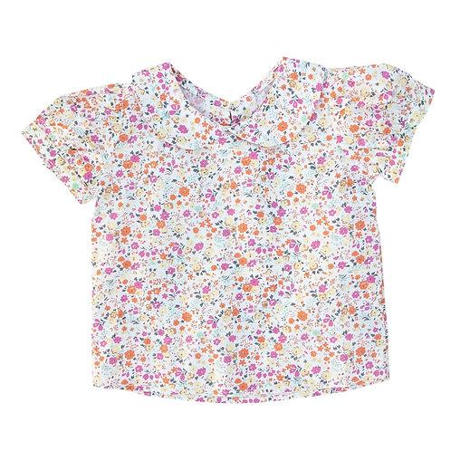 Floral Peter Pan Collar Shirt