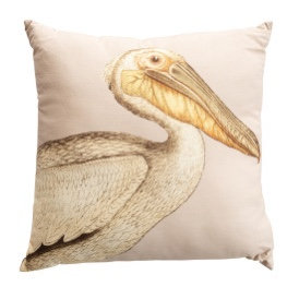 Pelican & Brown Corduroy Back Cotton Pillow