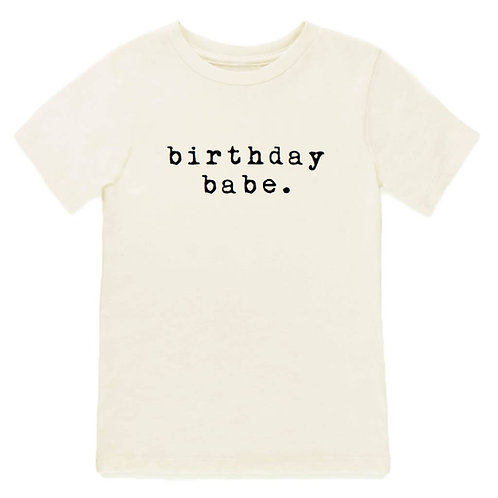 Birthday Babe Tee