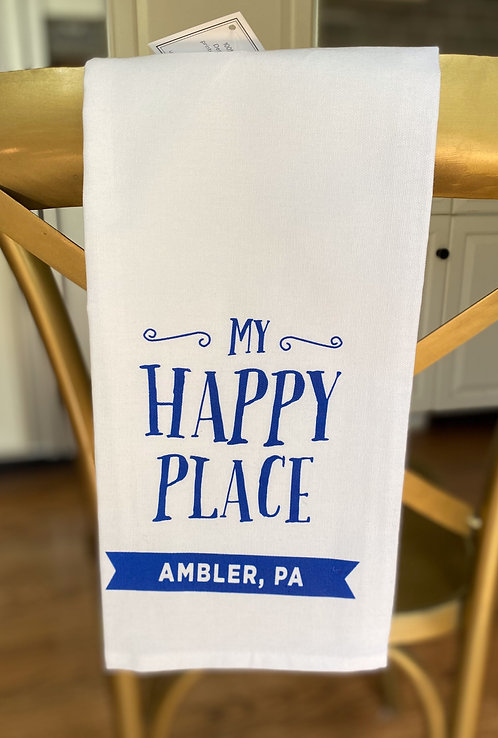 Ambler - My Happy Place Towel