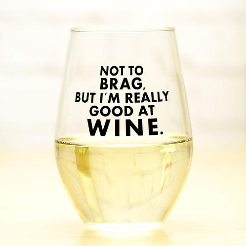 Good at Wine Glass (Set of 2)