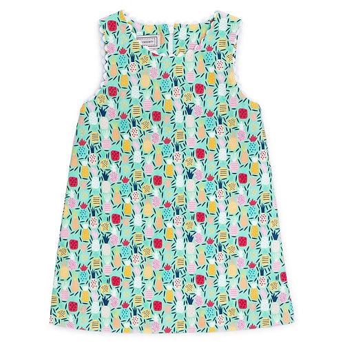 Colorful Pineapple Shift Dress