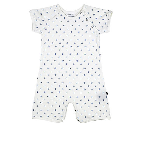 Allover Anchor Shortie Jumper