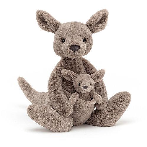 JellyCat Kara Kangaroo Stuffie
