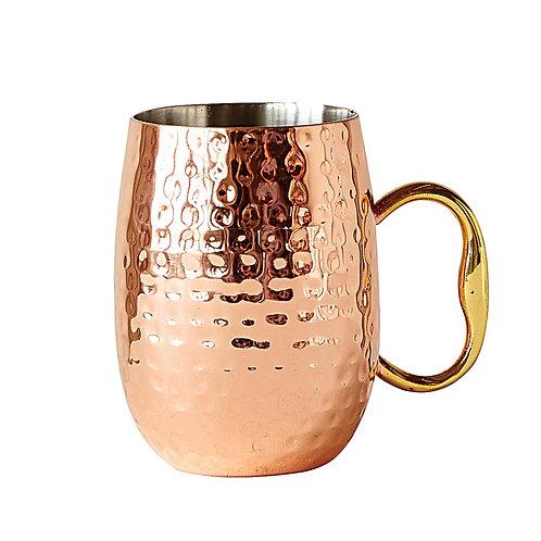 Copper Finish Moscow Mule Mug