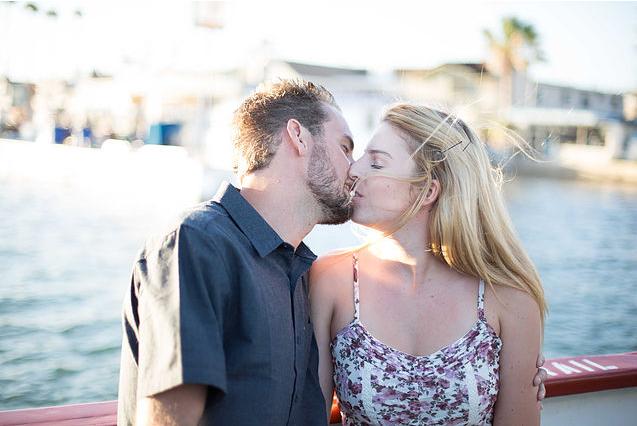 Balboa Beach, CA Engagement Photography by Tom Keene - LAdigitalPhoto