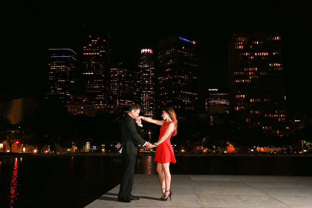 Downtown LA LADWP Engagement by Tom Keene LAdigitalPhoto