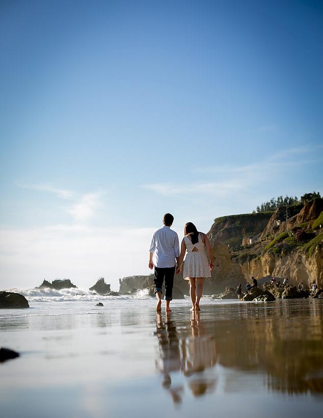 El Capitan Beach, CA Engagement Photography by Tom Keene - LAdigitalPhoto