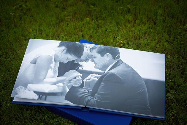 LAdigitalPhoto - Flush Mount Wedding Album