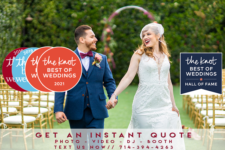 the knot banner best of weddings 2021