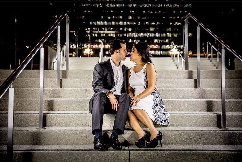 LAdigitalPhoto - Tom Keene Engagement Photography Grant Park Downtown LA