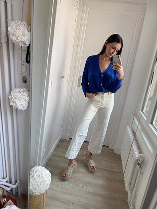Jeans Charlotte blanc