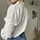 Thumbnail: Chemise gaze de coton blanche