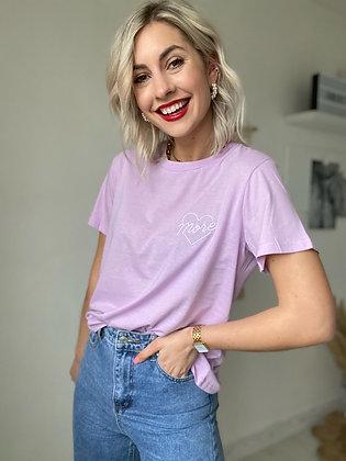 Tee shirt More Lila