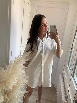 Robe chemise Eleonore blanche