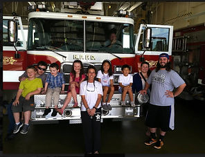 Lindley Park Baptist Church Visit Firefighters