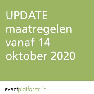 Aangescherpte maatregelen vanaf 14 oktober 2020