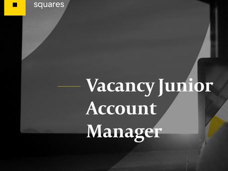 Vacature junior accountmanager bij Squares