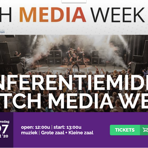 Conferentie De Vorstin en Dutch Media Week op 7 oktober