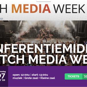 Conferentie De Vorstin en Dutch Media Week op 7 oktober